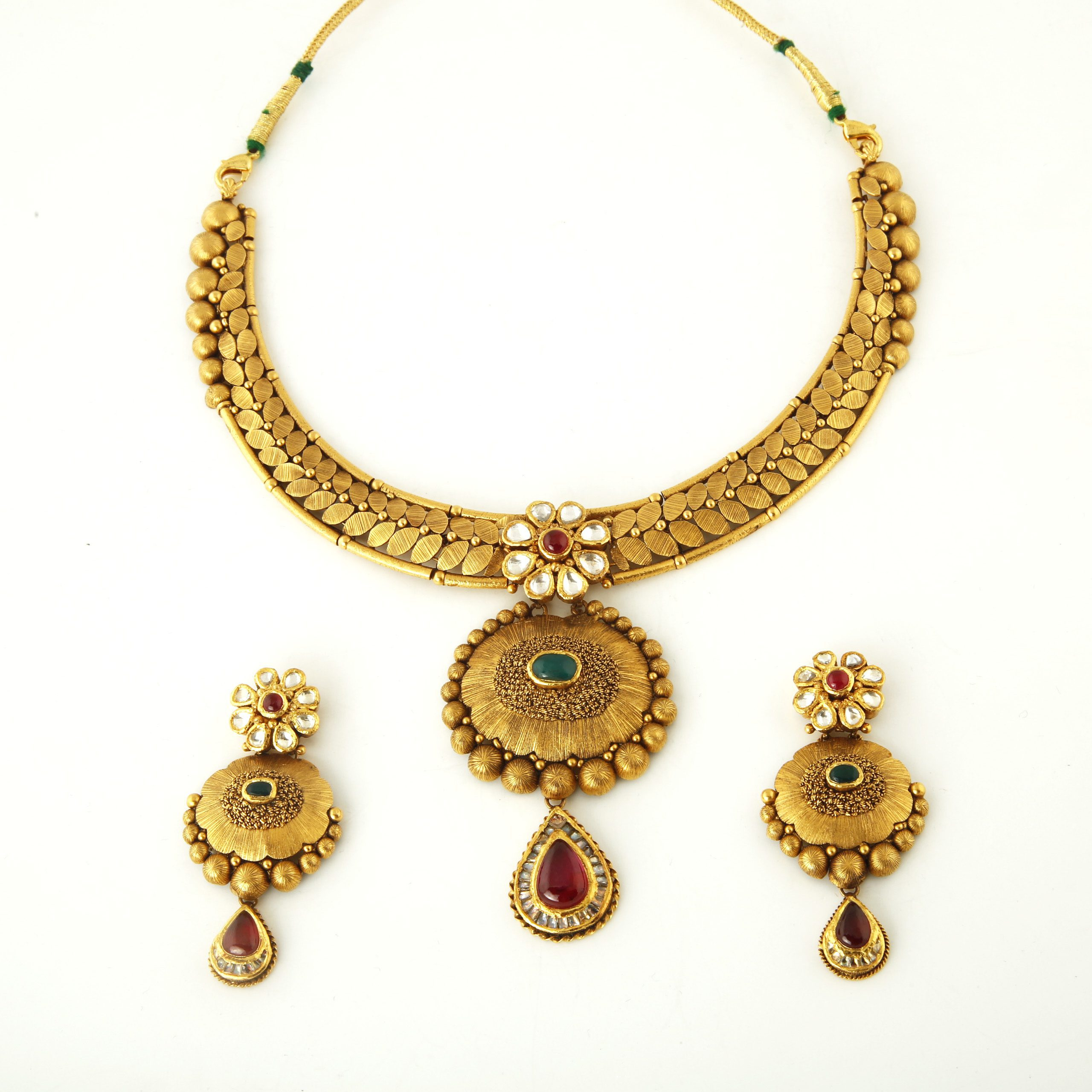 Gold necklace product categories manik chand jeweller kolkata gold antique set aloadofball Image collections